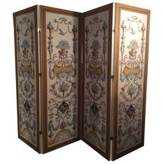 Zuber Wallpaper Folding Screen | From a unique collection of antique and modern screens at https://www.1stdibs.com/furniture/more-furniture-collectibles/screens/