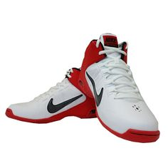 3713bf99ef3d Sepatu Basket Nike Air Visi Pro IV 599556-101 adalah sepatu basket dengan  upper syntetis