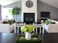 The Sandberg Home - eclectic - living room - orange county - Tara Bussema