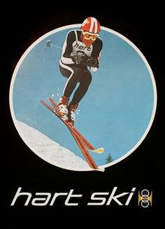Vintage Ski World carries Hart Original Vintage Ski Poster and many other kinds of vintage posters! Nordic Skiing, Alpine Skiing, Vintage Ski Posters, Ski Racing, Ski Chalet, Happy Kids, Painting Inspiration, Vintage Art, Snow