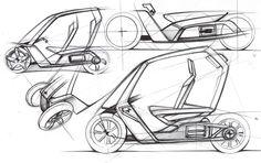 BMW   C1+ by Jean-Thomas MAYER, via Behance