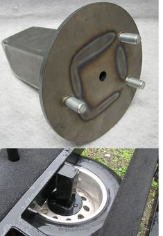 Trailer Spare Tire Carrier Under-carriage Mount - 00 BOAT - Bakes Online - Detail Work Trailer, Trailer Plans, Trailer Build, Utility Trailer, Trailer 2, Flatbed Trailer, Custom Trailers, Cargo Trailers, Camper Trailers