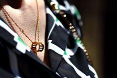 Roman Empress Charm Necklace by @thepeachbox