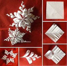 Good No Cost Paper Crafts origami Tips In search of fresh write concepts? Diy Paper Christmas Tree, Paper Christmas Decorations, Christmas Origami, Paper Ornaments, Diy Christmas Ornaments, Paper Crafts Origami, Paper Crafting, Christmas Projects, Holiday Crafts