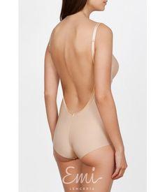 c4e3ba49b Body espalda descubierta Second Skin Ivette · Lenceria Emi Tienda online  especializada en bodys sin espalda