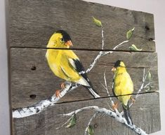 Chickadee Pallet Painting, Distressed Wood Art, Pallet Art by PalletPalz on Etsy… – Wood Works – Just another WordPress site Wood Pallet Art, Pallet Painting, Tole Painting, Barn Wood, Painting On Wood, Wood Wood, Painted Wood, Diy Wood, Pallet Signs
