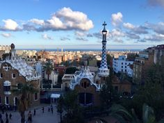 """Park Guell has impressive views since it is located on a hill. - """"Why I Fell in Love With Gaudi in Barcelona"""" - Two Traveling Texans"""