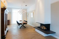 Sherylleysner   Interior Architecture & Project Management   Private house   Amsterdam   Living room   Diningroom   Fireplace  