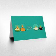 Happy Diwali Diwali Cards Diwali Greeting Card by PaperPussyCat