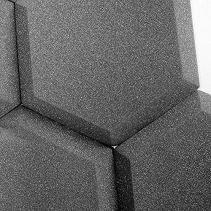 12pcs Hexagon Acoustic Panel Sound Isolation Foam Soundproof Board Studio Audio Sound Absorption Panels Twoelevenge Audio Room Acoustic Panels Sound Proofing