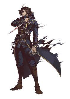 9gui2: dishonored - corvo fan art