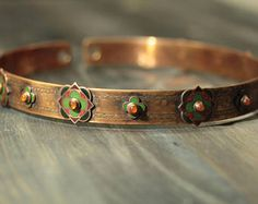 medieval diadem - medieval coronet - 13th century circlet - enamel tiara - champleve  - bronze coronet - carnelian - cornelian