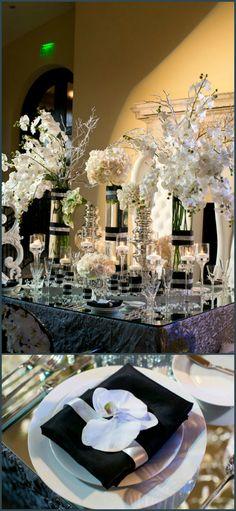324 Best Black White Wedding Theme Images Black Weddings