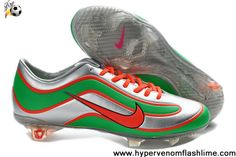 Best Gift Sliver Green Red Nike Mercurial Vapor XV Limited Edition Latest Now
