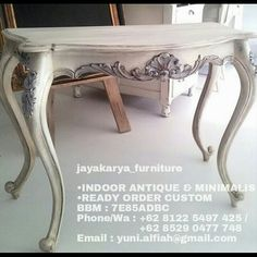 Jaya Karya Furniture || Antique & Minimalis Furniture Indoor || Ready Order Custom || Contact Person ~> BBM : 7E85ADBC || Whatsapp : +62 8529 0477 748 || Line : yuni_alfiah || Email : jayakaryafurniture@gmail.com