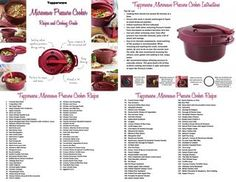 Tupperware Pressure cooker recipes and cooking guide 2018 Tupperware Pressure Cooker Recipes, Tupperware Recipes, Pressure Cooking Recipes, Slow Cooker Recipes, Cooking Tips, Tupperware Storage, Pressure Cooker Spaghetti, Pressure Cooker Potatoes, Microwave Pressure Cooker