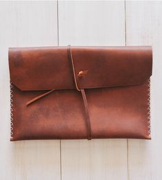 Brown Leather 13'' MacbookPro Case