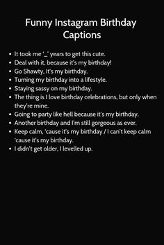Birthday board diy for men ideas for 2019 Birthday Captions Instagram, Instagram Captions For Selfies, Instagram Bio Quotes, Selfie Captions, Instagram Funny, Happy Birthday Quotes For Friends, Birthday Girl Quotes, Birthday Wishes Quotes, Birthday Text
