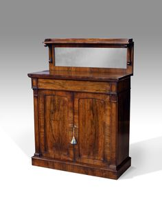Antique rosewood chiffonier