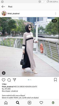 New Abaya Style, Hijab Style Dress, Hijab Chic, Muslim Women Fashion, Islamic Fashion, Womens Fashion, Abaya Fashion, Fashion Dresses, Abaya Designs