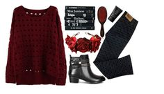 """""""#BEAUTIFULHALO"""" by credentovideos ❤ liked on Polyvore featuring Mason Pearson, Dolce&Gabbana and NARS Cosmetics"""
