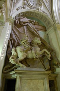 A statue in the Vatican City