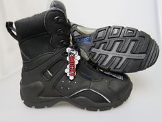 ROCKY Black 1St Med Carbon Fiber Toe Side Zip WP Boots Men's Size 6 Medium NEW #ROCKYBRANDS #WorkSafety