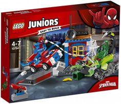 Buy LEGO Juniors 10754 Marvel Spider-man Vs Scorpion Street Showdown from our Construction Toys range at John Lewis & Partners. Lego Duplo, Lego Ninjago, Lego Toys, Lego Spiderman, Lego Juniors, Lego Jurassic World, Toys R Us, Toys For Boys, Legos