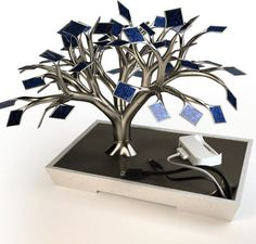 Photosynthesis Solar Tree Charger | Cool Solar Powered Inventions