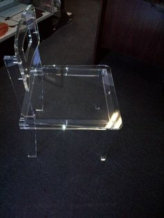 Custom Made Acrylic Vanity Chairs #All Colors