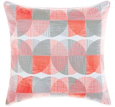 Tika Quilt Cover Set Coral has a fun, modern design of painterly spot print and made of cotton seersucker on front and cotton percale on reverse. Quilt Cover Sets, Manchester, Pillow Cases, Modern Design, Coral, Quilts, Blanket, Lifestyle, Fun