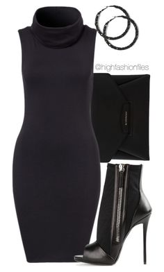 """No Script"" by highfashionfiles ❤ liked on Polyvore featuring Givenchy and Giuseppe Zanotti"