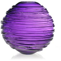 "William Yeoward Country Sophie Vase, 11"" (€385) ❤ liked on Polyvore featuring home, home decor, vases, purple, fillers, decor, backgrounds, amethyst, william yeoward and glass vases"