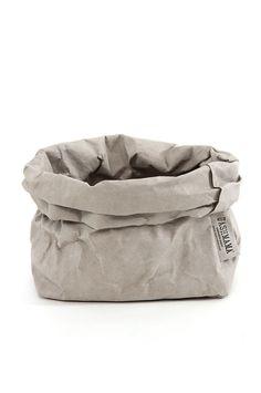 Uashmama Paper Bag #storage #bucket