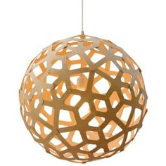 Coral Pendant by David Trubridge Design From $500