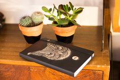 Made @ Uncover Lab | Owl | Moleskine ® | Design: Vonik  | Photo: Eva Leget
