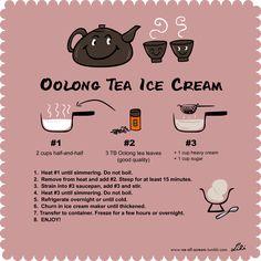 Oolong Tea Ice Cream