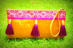 www.indyibiza.com #bags #fringe #clutch #leather bags