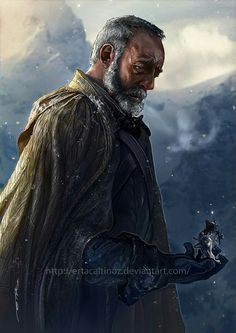 Ser Davos Seaworth. ~ art: Have A Seat with Ertaç Altınöz