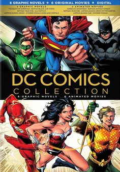 DC COMICS GRAPHIC NOVELS COLLECTION BLU-RAY SET VOLUME ONE US (WARNER)