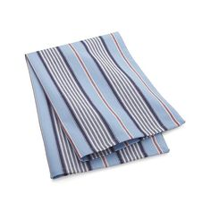 Blue Ticking Stripe Dish Towel  | Crate and Barrel