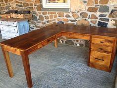 DIY #L Shape Desk (desk plans)