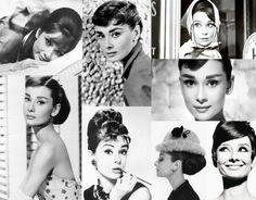 Audrey Hepburn    wolffashion: 1950 -1960s. fashion icons