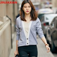 New brand women 's cardigan sweater with a deduction wool women loose large spring and summer autumn and winter jacket
