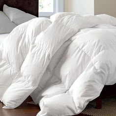 All Sizes Warm Feather Duvet Hotel Linen Goose Down Comforter Hotel Linen, Down Quilt, Down Comforter, Dust Mites, Bed Styling, Good Sleep, Luxury Bedding, Comforters, Pillows