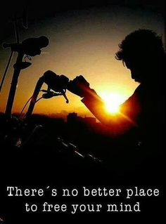 No better way to free the mind ~ #ChopperExchange #bikerlife #rideon