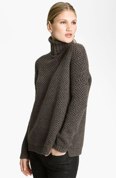 The Weekend Sweater: Vince Turtleneck Sweater ($335)