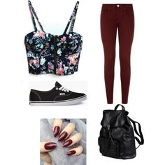 Something to wear by minkycanfly on Polyvore featuring polyvore, fashion, style, dVb Victoria Beckham, Vans and Doucal's