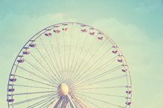 Carnival Print nursery decor ferris wheel photo by ScarlettElla