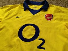 Sale Vintage Nike Arsenal FC Away 2003/2004 Soccer by casualisme